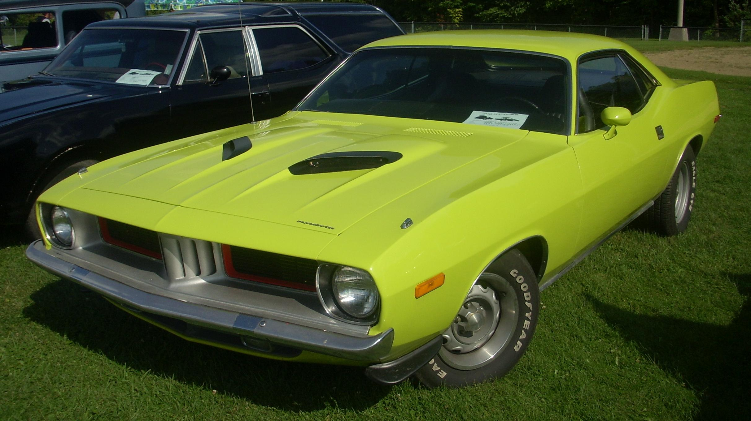 Plymouth cuda photo - 3