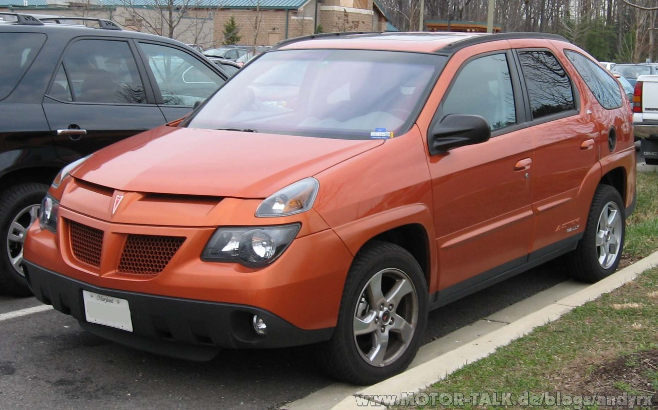 Pontiac aztek photo - 3