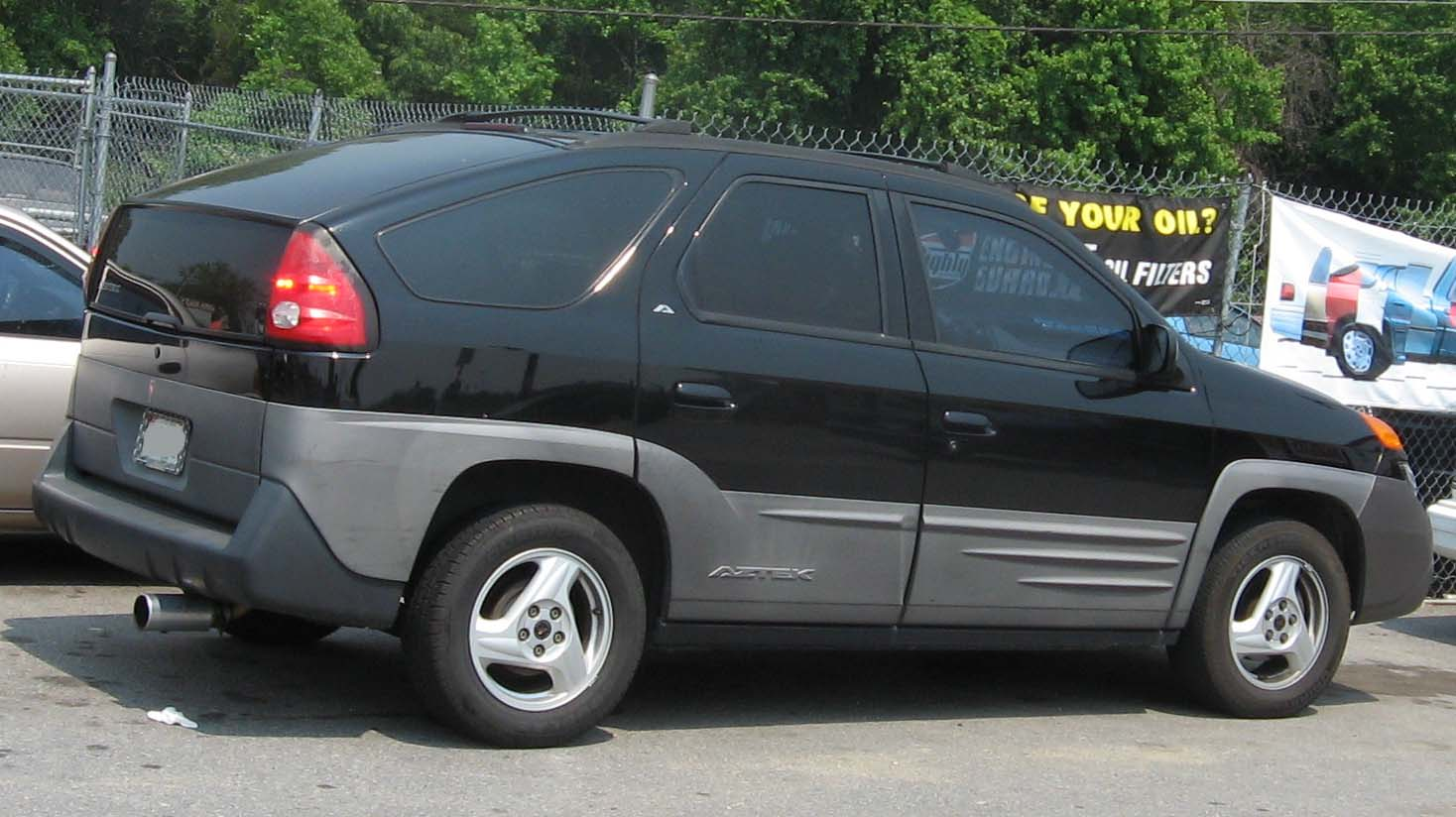 Pontiac aztek photo - 4