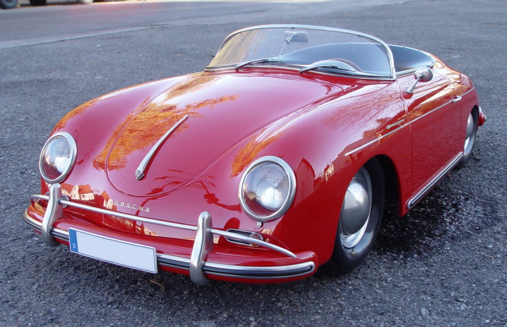 Porsche speedster photo - 2