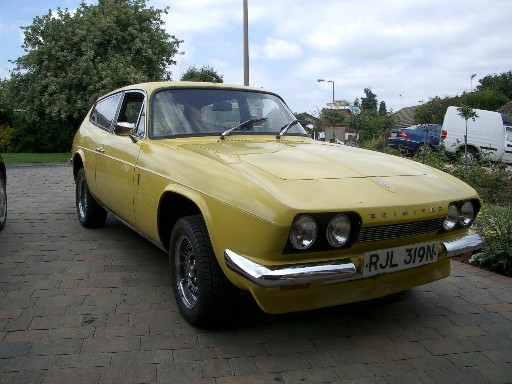 Reliant scimitar photo - 1