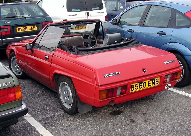 Reliant scimitar photo - 4