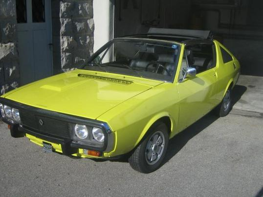 Renault 17tl photo - 2