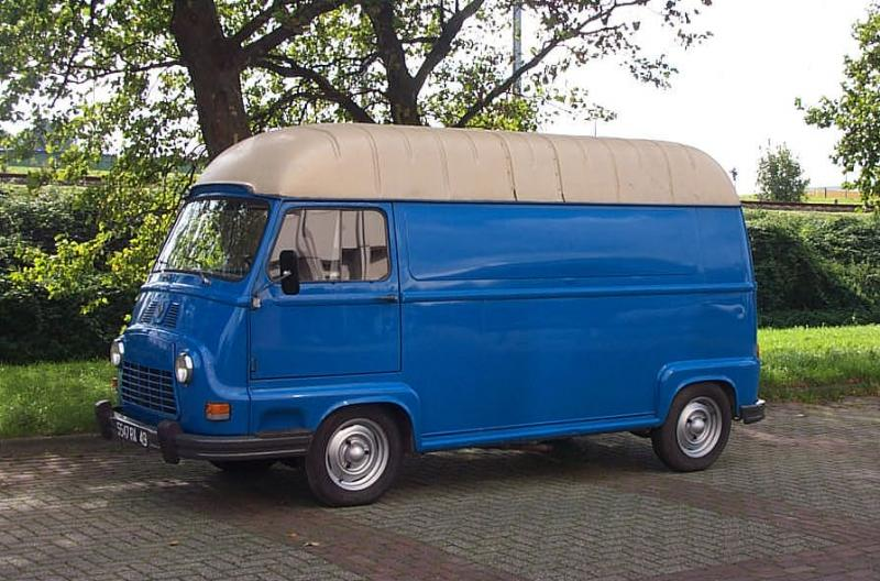 Renault estafette photo - 1