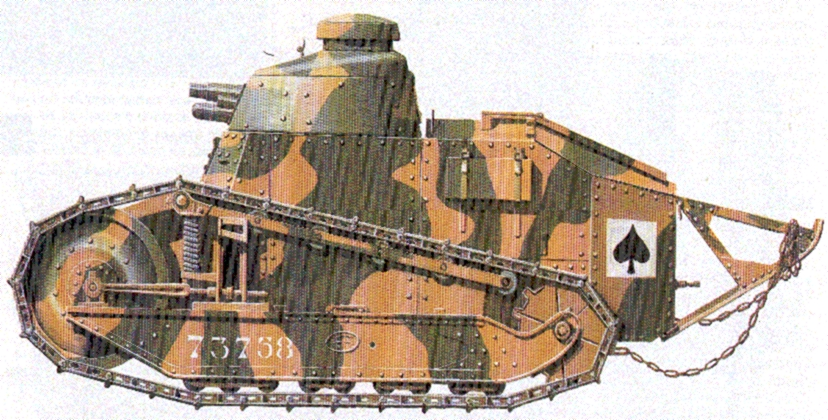 Renault ft-17 photo - 2
