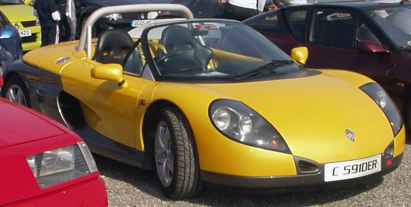 Renault spider photo - 1