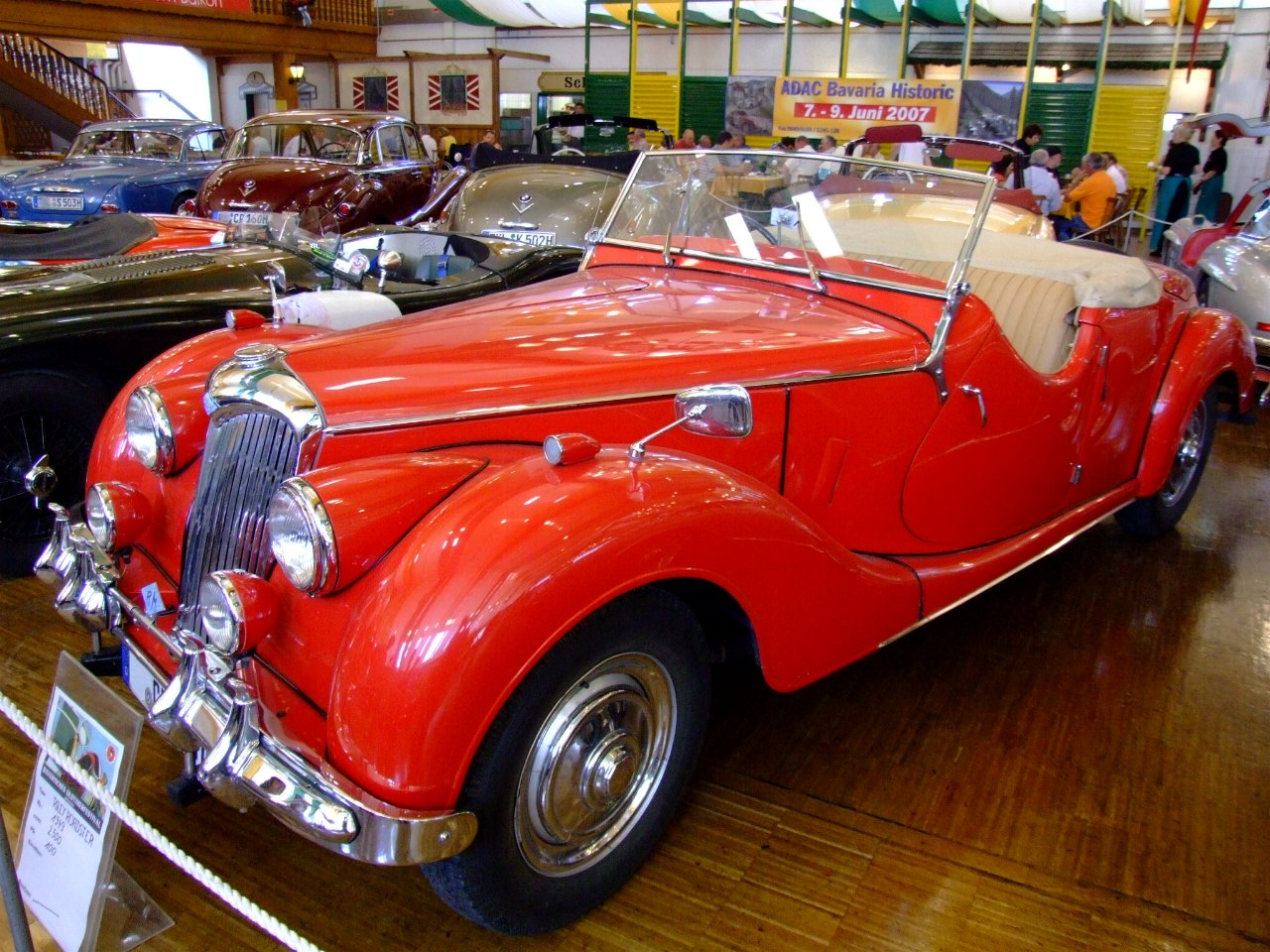 Riley roadster photo - 1