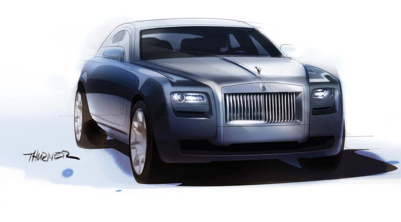 Rolls royce sedan photo - 3