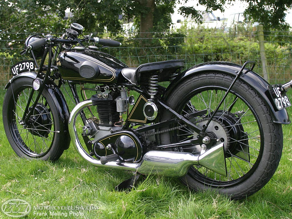 Rudge four photo - 2