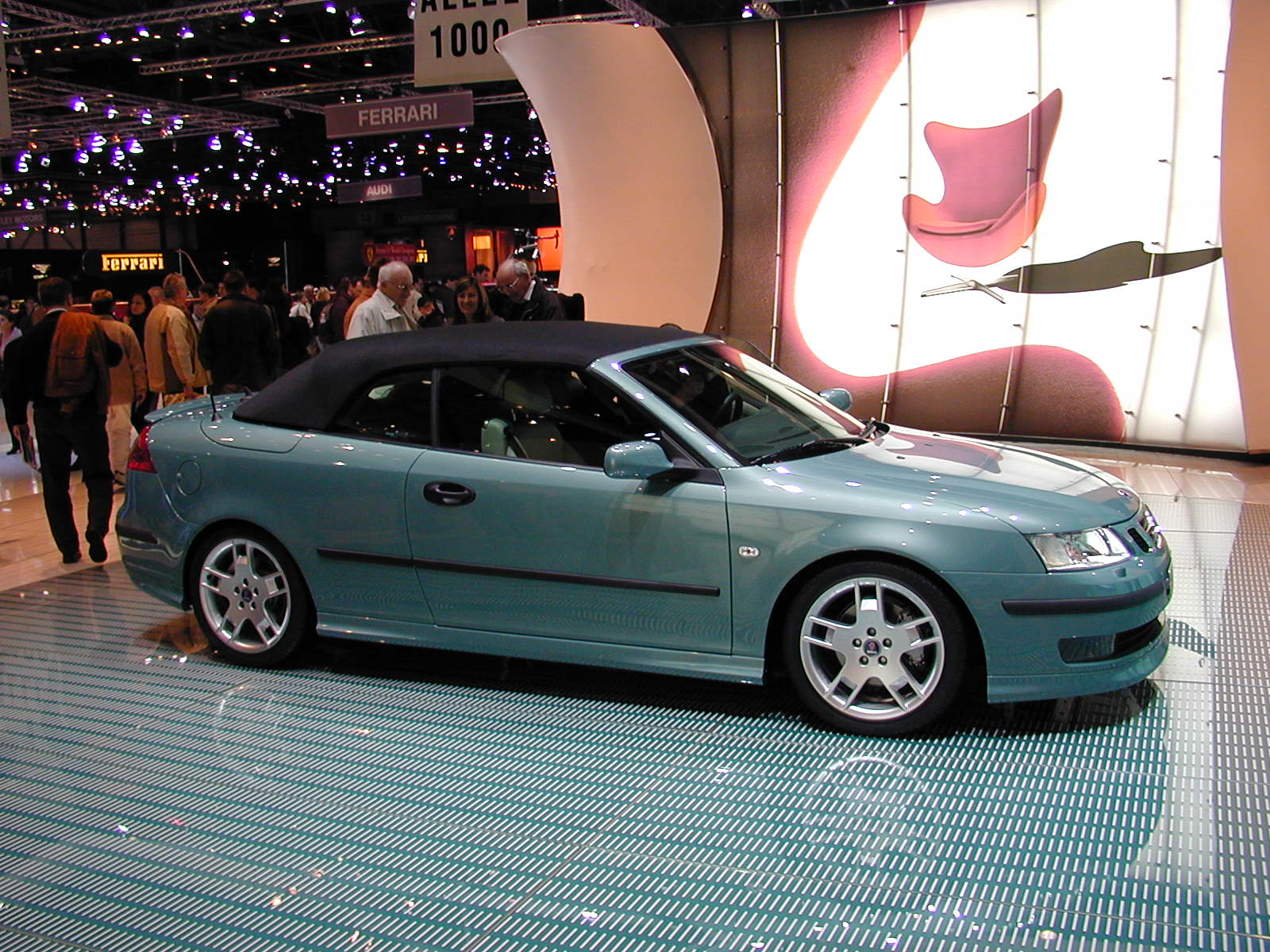Saab cabriolet photo - 1