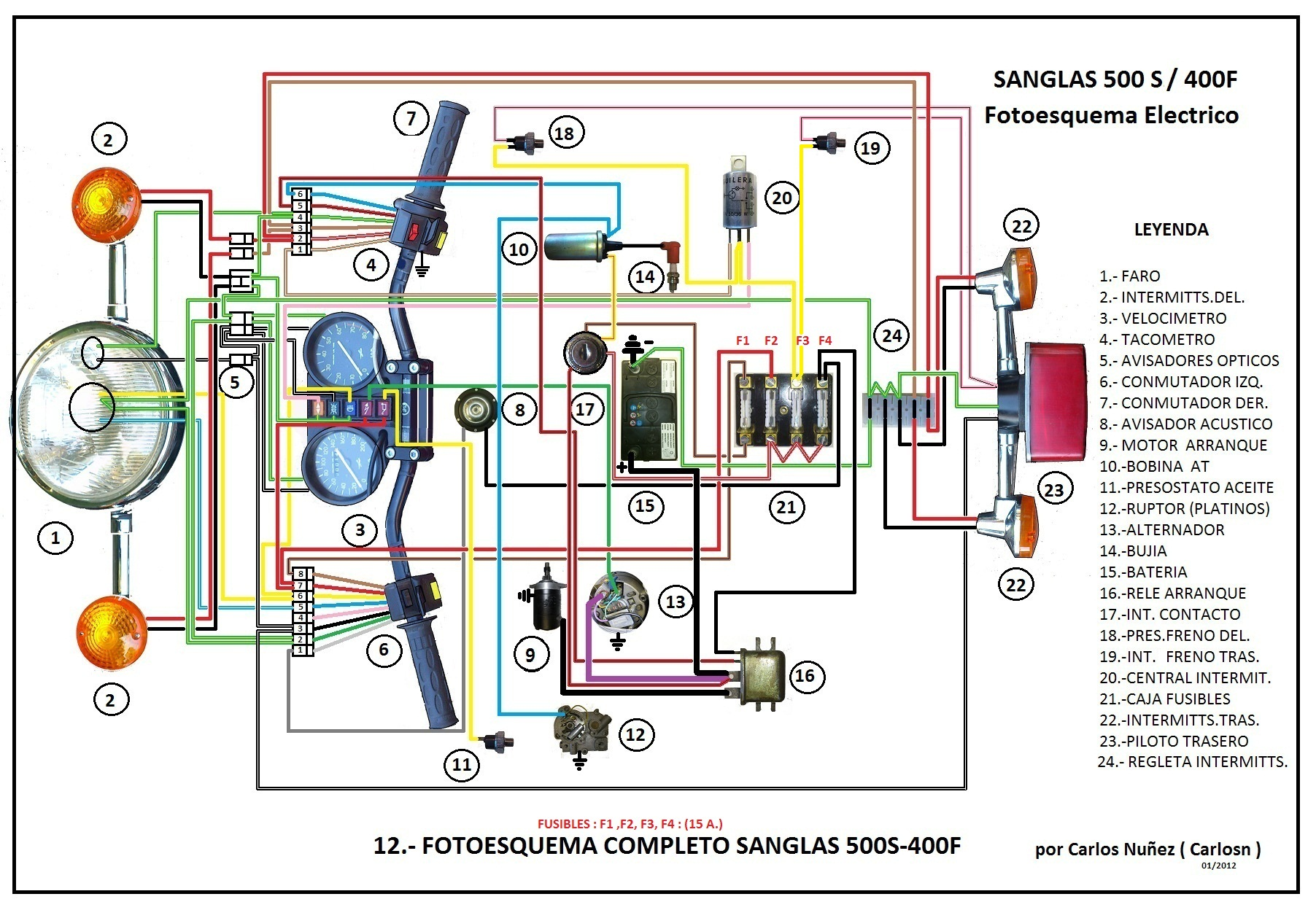 Sanglas 350 photo - 2