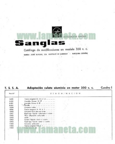 Sanglas 350 photo - 4