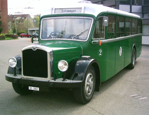 Saurer bus photo - 2