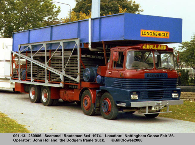 Scammell routeman photo - 1