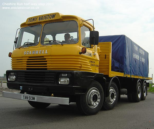 Scammell routeman photo - 2