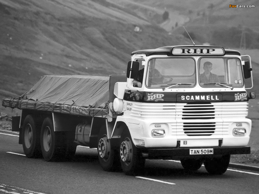 Scammell routeman photo - 3