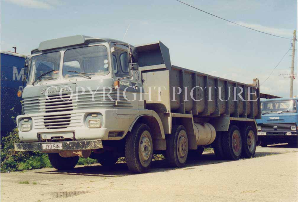 Scammell routeman photo - 4