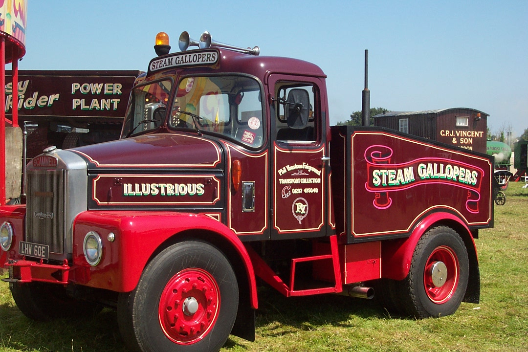 Scammell tractor photo - 1