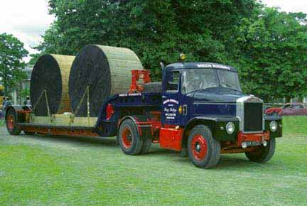 Scammell tractor photo - 2