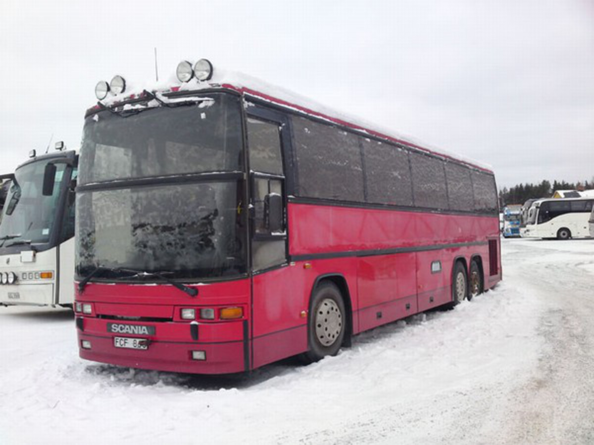 Scania k113clb photo - 3