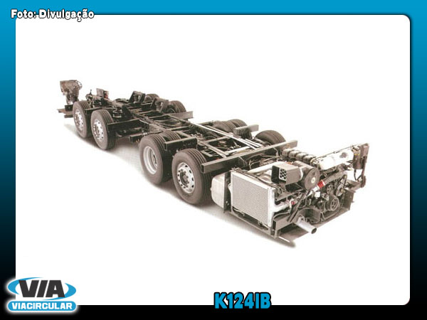 Scania k124ib photo - 1