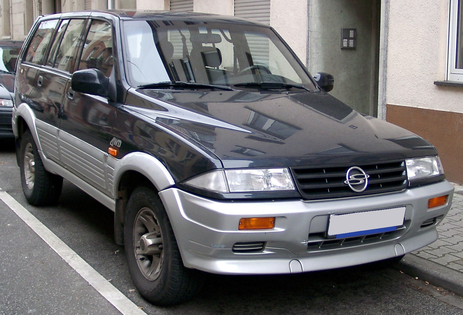 Ssangyong musso photo - 4