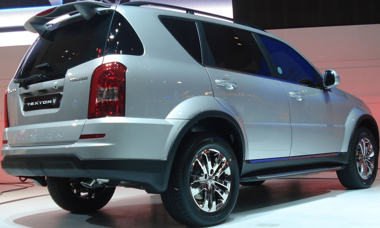 Ssangyong rexton photo - 2