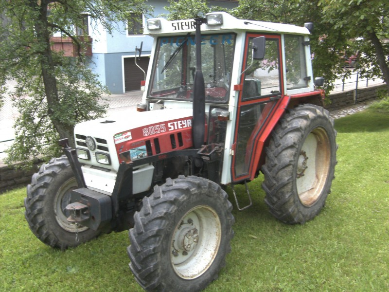 Steyr 8055 photo - 3