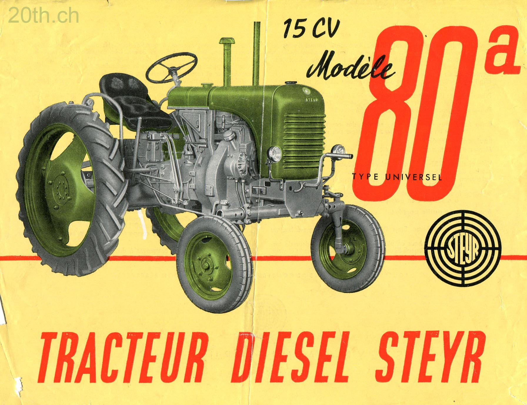 Steyr 80a photo - 1