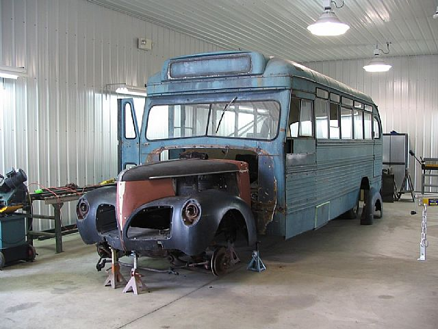 Studebaker bus photo - 1