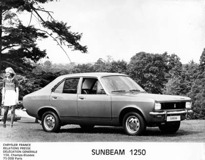 Sunbeam 1250 photo - 1