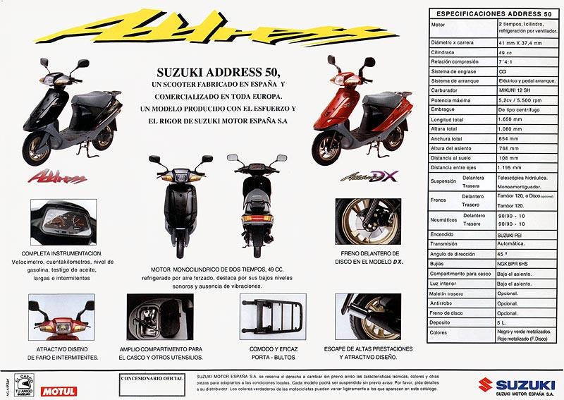 Suzuki address photo - 1