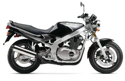 Suzuki gs500 photo - 2