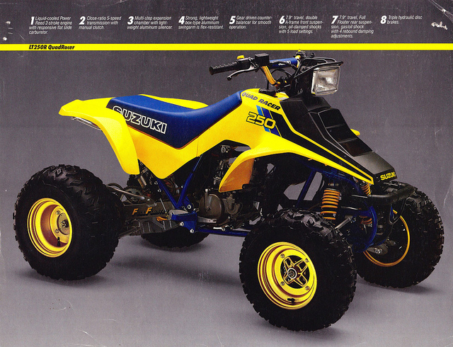 Suzuki quadracer photo - 2