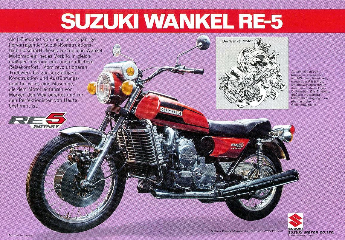 Suzuki re5 photo - 1