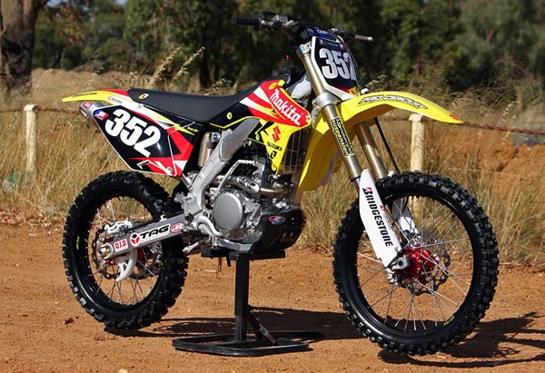 Suzuki rmz photo - 4