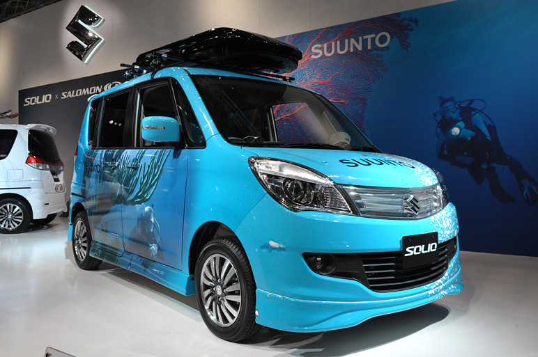 Suzuki solio photo - 2