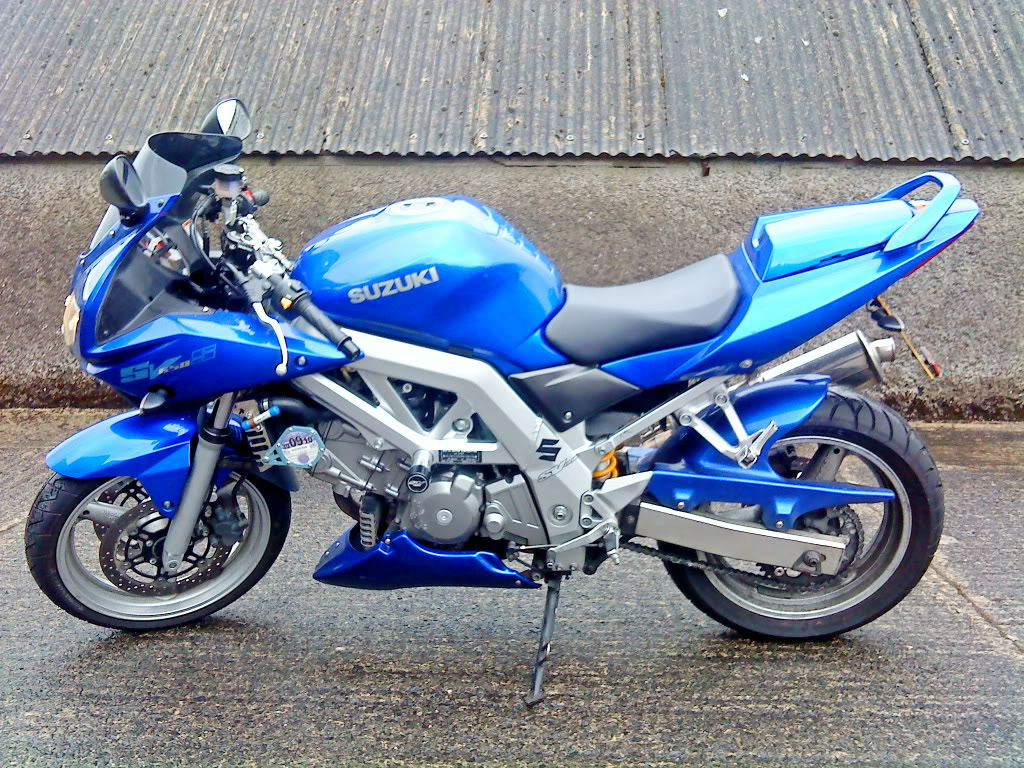 Suzuki sv650sf photo - 4