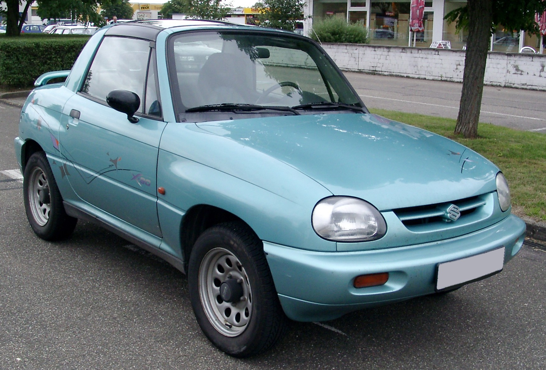 Suzuki x-90 photo - 4