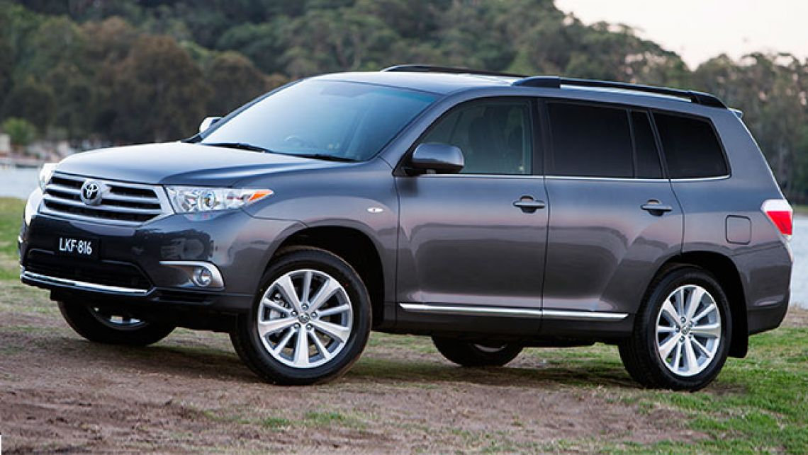 Toyota kluger photo - 1