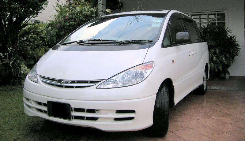 Toyota previa photo - 3