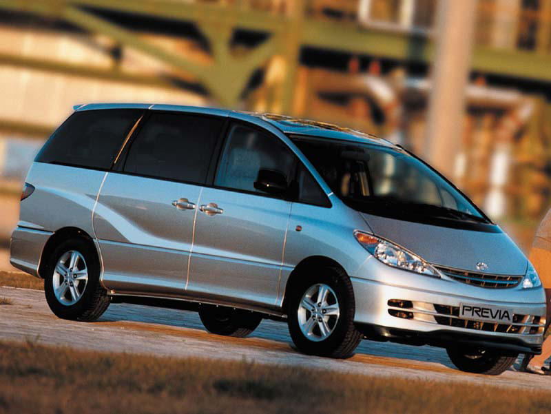 Toyota previa photo - 4