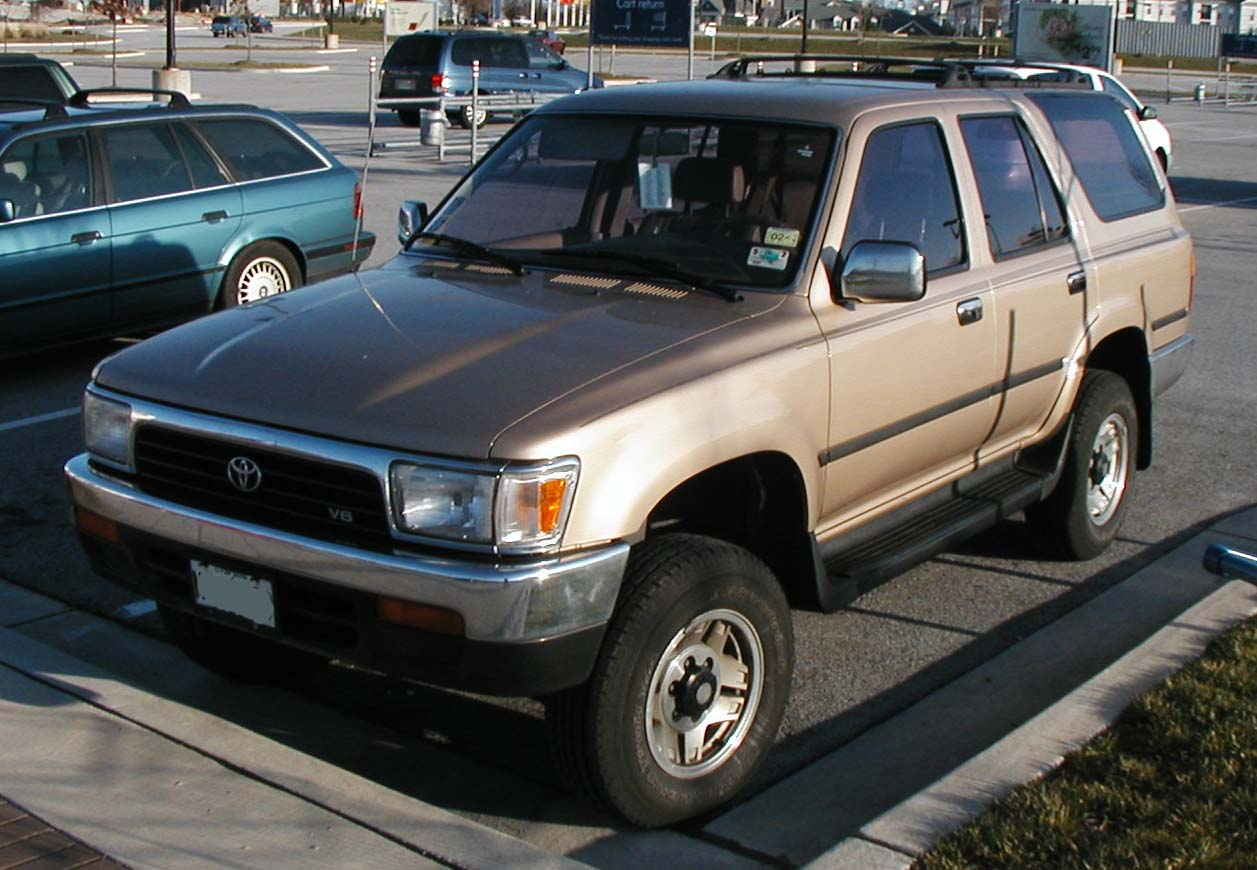Toyota runner photo - 2