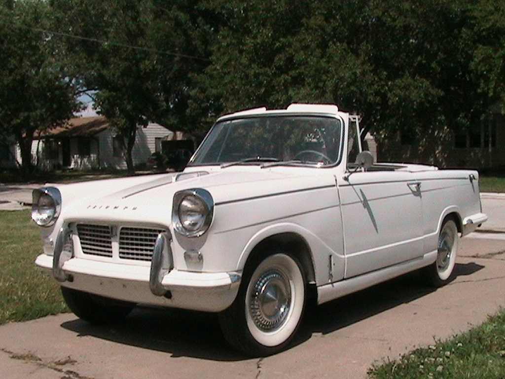 Triumph herald photo - 1