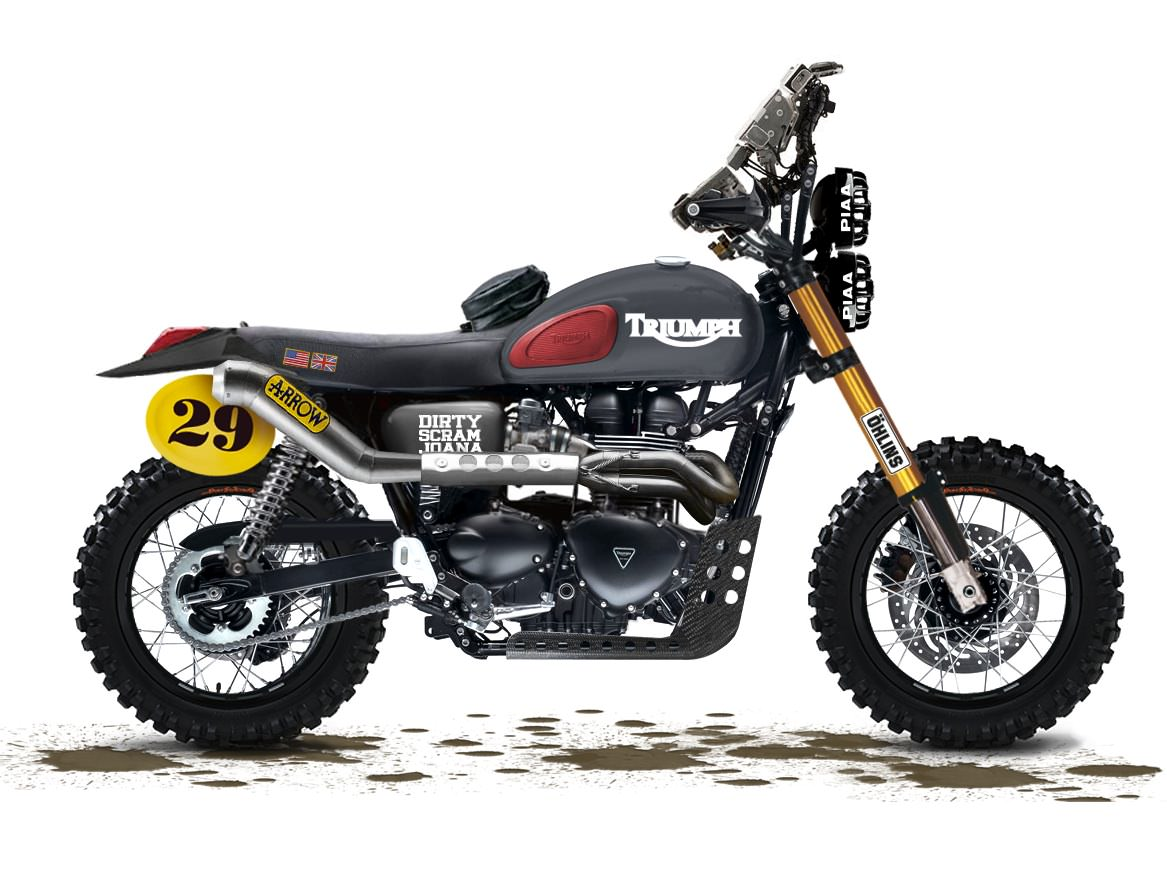 Triumph scrambler photo - 1