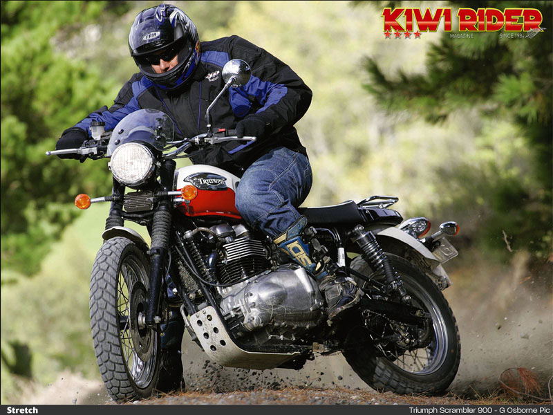 Triumph scrambler photo - 2