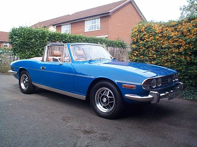 Triumph stag photo - 1
