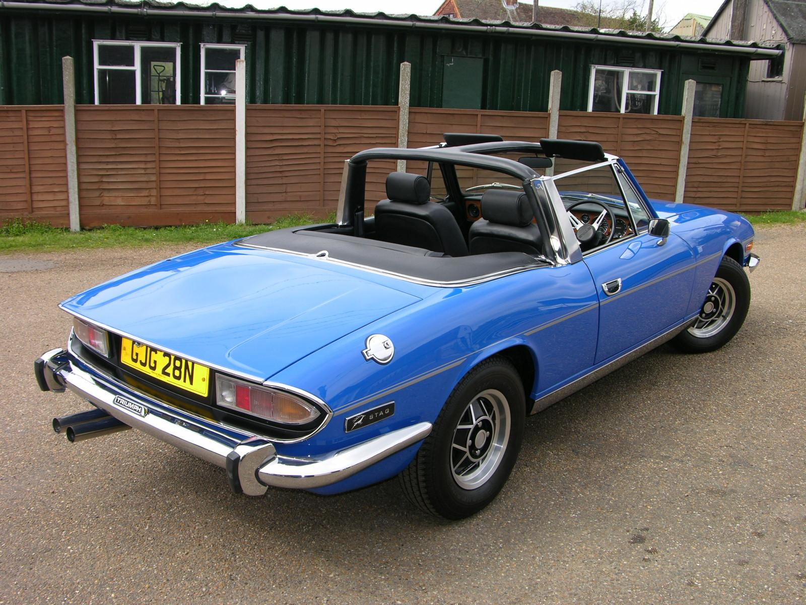Triumph stag photo - 4
