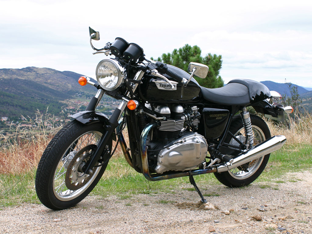 Triumph thruxton photo - 4