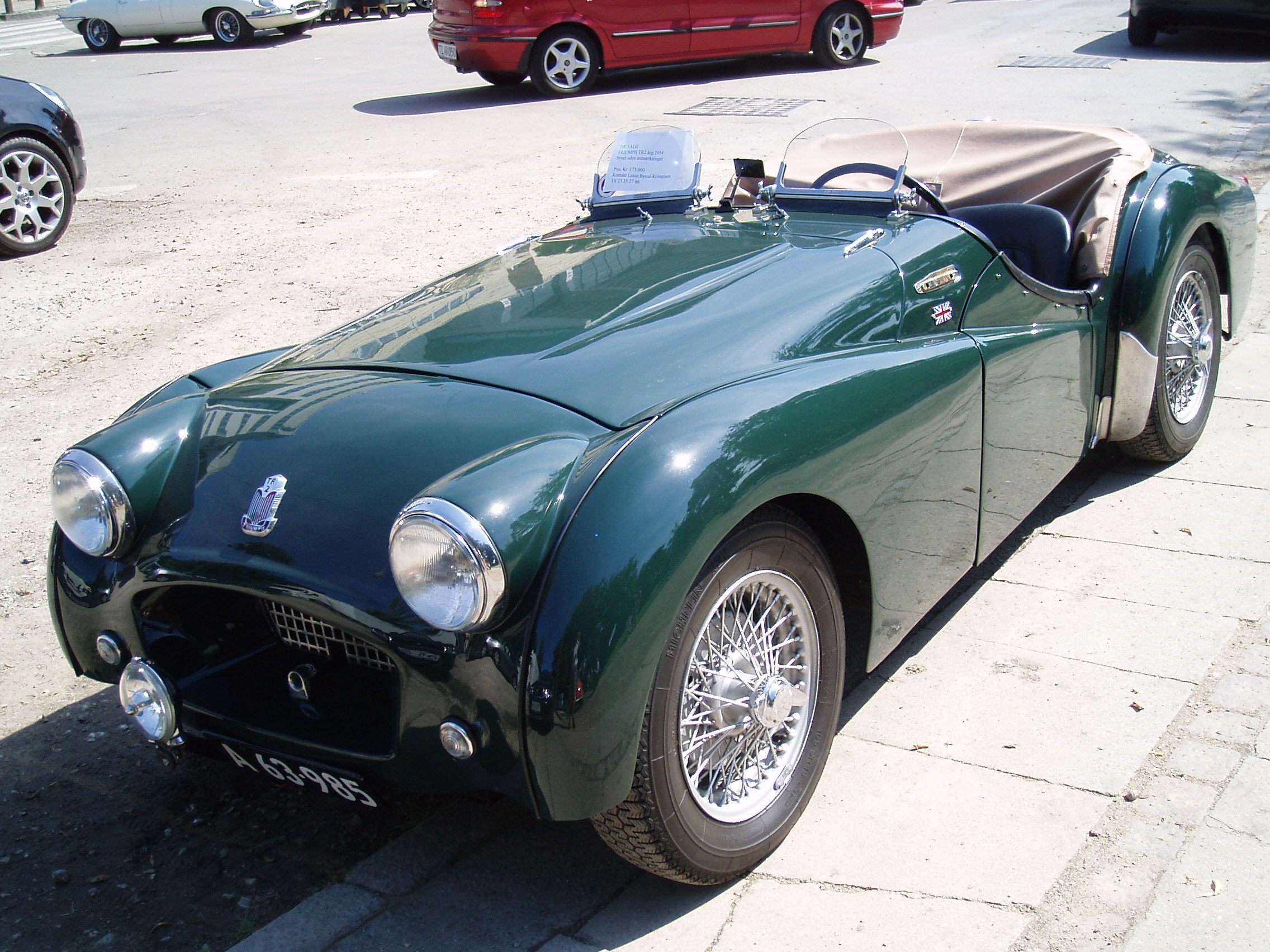 Triumph tr-2 photo - 1